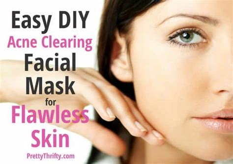 easy diy mask for acne when does acne stop for acne clearing mask how to get rid of pimples and scars