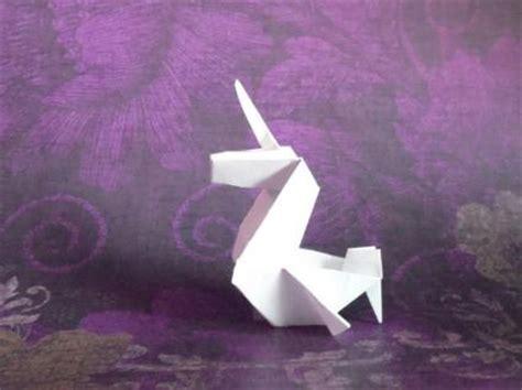 Easy Origami Unicorn - how to make an origami unicorn