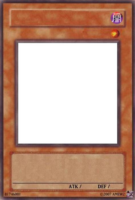 blank yugioh card template card template by raccoon on deviantart