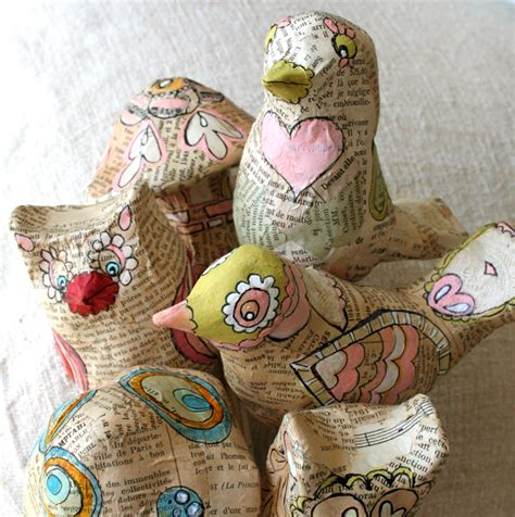 Things To Make Out Of Paper Mache - 10 ways to re use waste paper