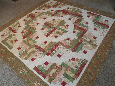 whisper of quilts curved log cabin