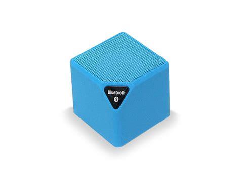 Speaker Mini Hyz 413 bluetooth portable mini qube speaker blue stacksocial
