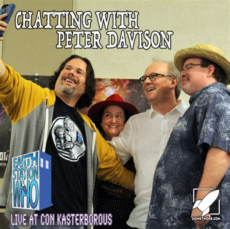 live chatting room earth station who podcast special chatting with davison the eso network