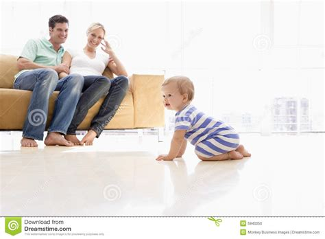 baby living room in living room with baby stock photo image 5940050