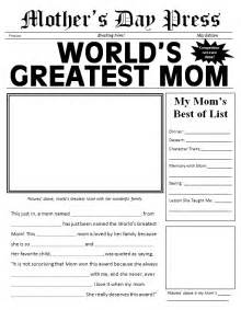 Free Printable Newspaper Template For Students by S Day Made Easy 3 Gifts Scholastic