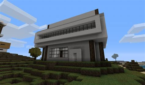 modern house designs minecraft project
