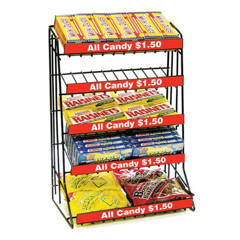 Snack Rack by Counter Top Snack Rack 5 Tier Discount Shelving