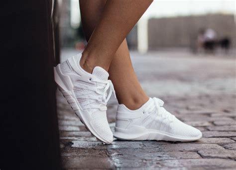 Original Adidas Eqt Racing Adv Primeknit Black White adidas eqt racing adv white by9796 sneakerfiles