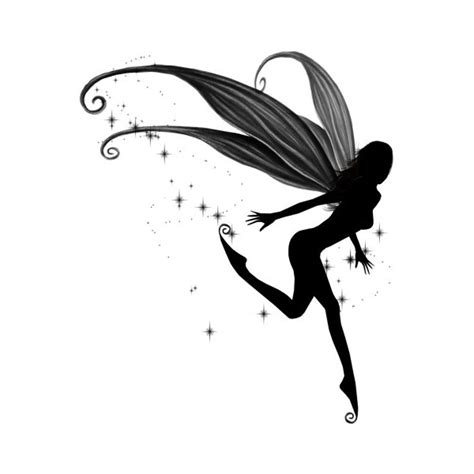 falling stars clipart tinkerbell pixie dust pencil and