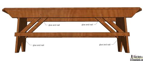 How To Build A Primitive Farmhouse Bench Remodelaholic