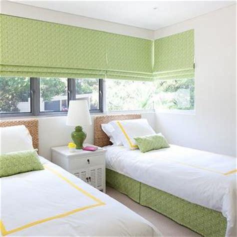 yellow  green bedroom cottage bedroom phoebe howard
