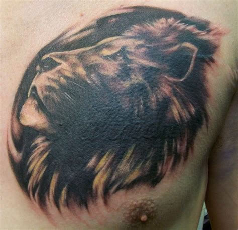 lion cover up tattoo cover up by dripe on deviantart