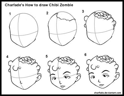zombie zeichnen tutorial how to draw chibi zombie by charfade on deviantart