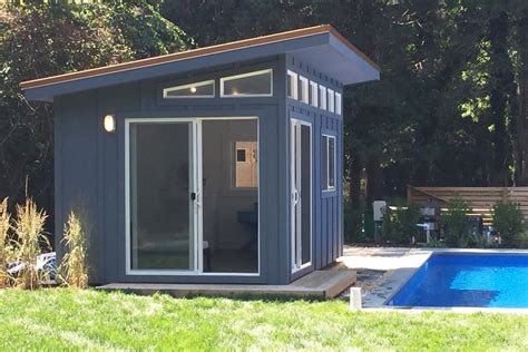 modern shed style homes modern house yes we finally added beautiful modern studio sheds get