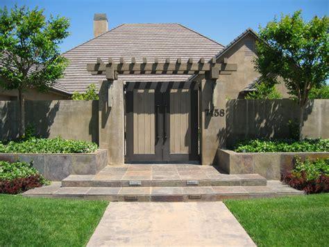 Home Exterior Gate Design Front Entry Gate Contemporary Landscape Sacramento