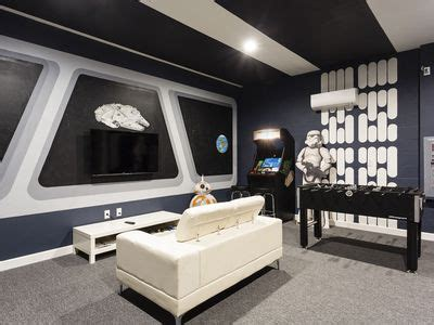 star wars living room bed luxury villa with games room private on panels hd star