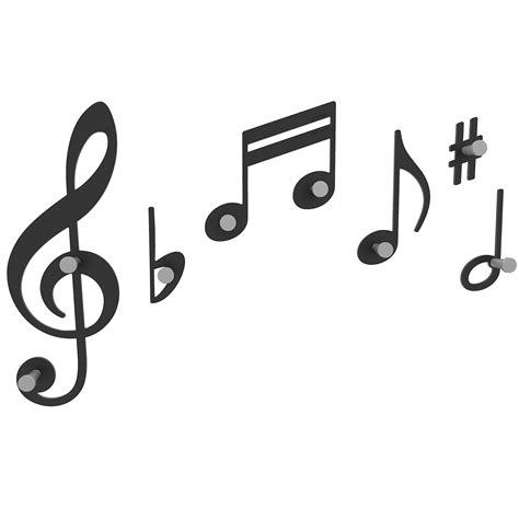 imagenes para logos musicales verdi notas musicales para colgar tus abrigos ociohogar com
