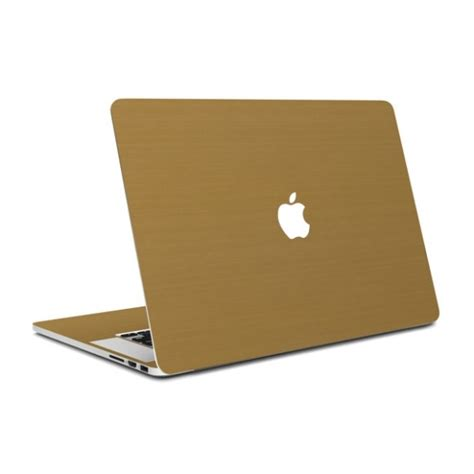 Macbook Air Gold 13 inch macbook air brushed gold wrap covers cases