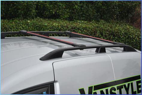 no drill roof rack vw caddy swb black roof bars cross bar set roof rack no drill 2003 2015 van ebay