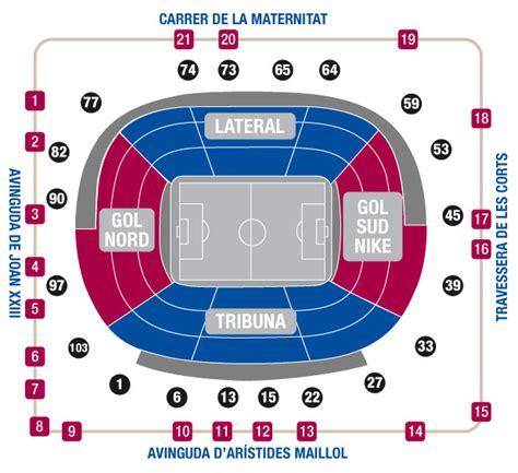 entradas para el c nou preguntas frecuentes compra entradas fc barcelona