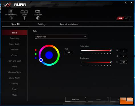 asus aura sync fans hyperx predator ddr4 rgb 32gb 2933mhz memory kit review