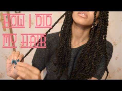 senegalese twist using marley hair how i do my senegalese twists using marley hair tasha