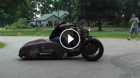 custom terror trike rat rod  fun