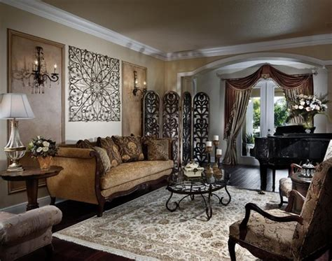 traditional home living room decorating ideas traditional living room design with metal wall panels