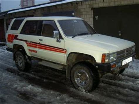 Toyota Hilux 1987 Model 1987 Toyota Hilux Surf For Sale 2 5 Diesel Manual For Sale
