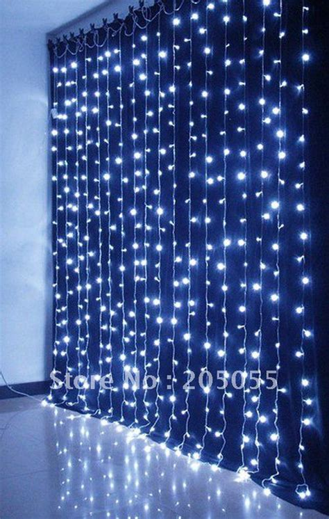 480leds Chirstmas Curtain Light Twinkle Light L 3m H X Curtain Of Lights