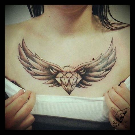 diamond chest tattoo 19 best images about chest tattoos on ink