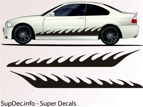 Auto Body Decals by Vinyl Auto Body Graphics Exterior Outside Decal Sticker B797