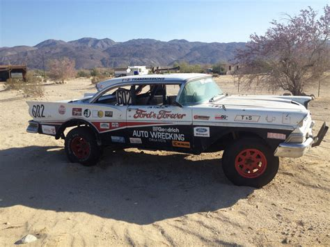 baja car 602 desert racing sedan