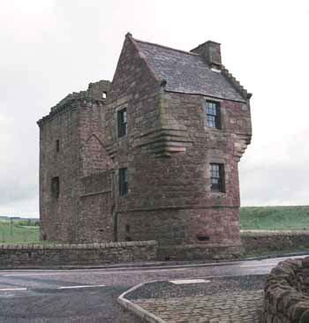 small castle travels in scotland castles and towers burleigh castle