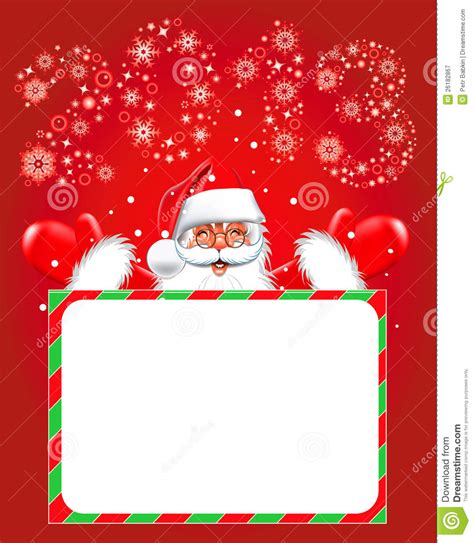 Topi Santa Sinterklas Natal Merry Christmast Happy New Year happy new year 2013 santa claus stock vector image 26182867