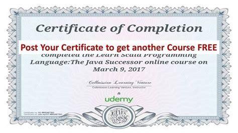 offertificate show  certificate