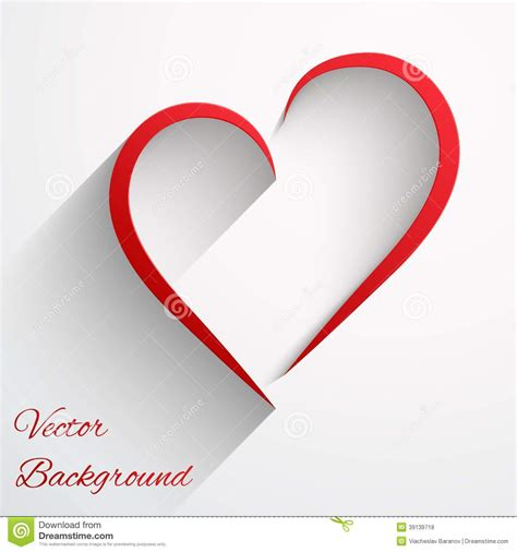 valentines day lines background with beautiful line of vector stock