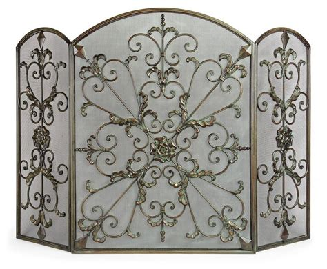 Wrought Iron Fireplace Screens Decorative by The 66 Best Images About Fireplace Screens Covers On