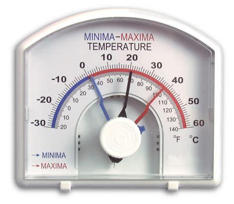 Thermometer Max Min h b durac bi metallic min max thermometer default
