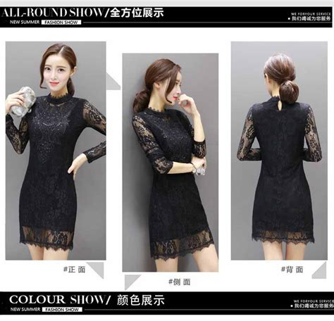 Dress Pesta No 36 dress pesta brokat hitam model terbaru model terbaru