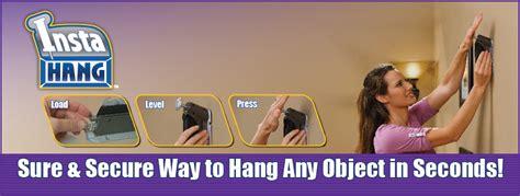 Alat Pertukangan Insta Hang As Seen Tv Merah insta hang wall hook drywall hanger hanging alat gantung