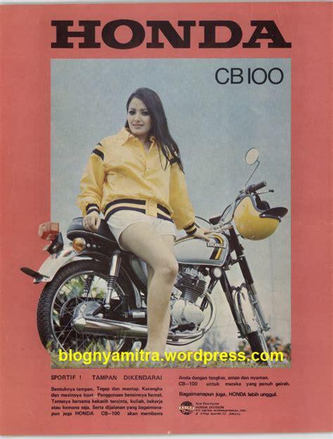 Sein Cb100 iklan motor honda jadul safety