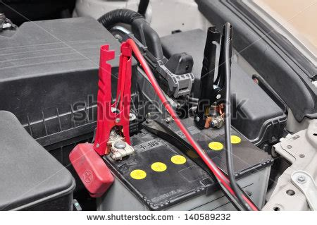 lade a batterie car battery charging stock photo 140589232