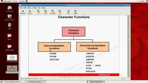 display oracle sql output rows on one single line sql tutorial single row function part 1st youtube