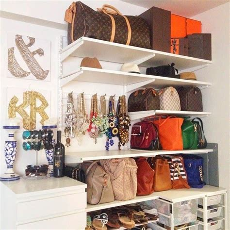 How To Store Bags In Wardrobe by 25 Changing Ways To Organize Your Purses Closetful