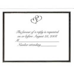 Wedding Rsvp Cards Template Free by Custom Wedding Invitations By Wilton Planning A Wedding
