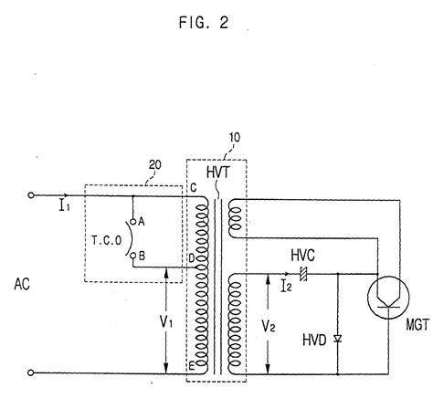microwave oven circuit diagram integrated circuit diagram