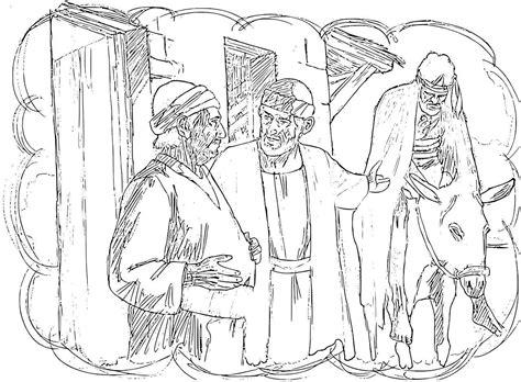 Coloring Page Samaritan by Samaritan Coloring Pages