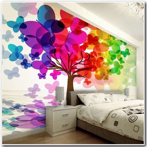 abstract wallpaper bedroom abstract personality custom 3d stereo large mural cave