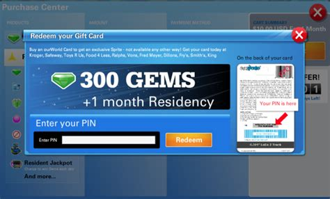 Gift Card Pin Code - our world store fan gear guides gift certificates and more virtual worlds for